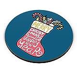 PosterGuy Santa Sock Christmas Christmas Gift, Christmas Sock, New Year, Santa Claus, Gifts For Her Fridge Magnet