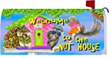 Welcome to the Nut House 1942MM Magnetic Mailbox Cover Wrap