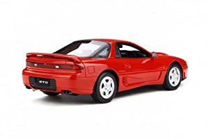 OttOmobile 1991 Mitsubishi GTO Twin Turbo Hard Top, Passion Red OT233 - 1/18 Scale Resin Model Toy Car