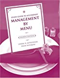 Study Guide to accompany Management by Menu, 4e