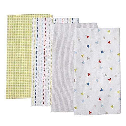 Kidsline Roadmap Receiving Blanket, Triangle Toss, 4 Count - 1