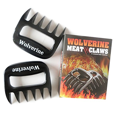 Premium Meat Claws. These BBQ Meat Claws Are Perfect for the Handling and Shredding of Beef, Pork and Chicken As Well As Serving Salads and Pasta Dishes. 100% Satisfaction Guarantee (Chicken Pasta Re compare prices)
