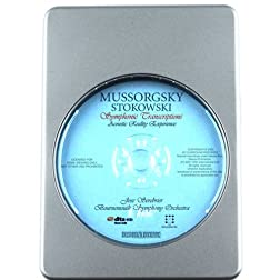 Russian Favorites MUSSORGSKY: Pictures at an Exhibition / Boris Godunov/ Night on Bare Mountain (Stokowski Transcriptions) - Acoustic Reality Experience [7.1 DTS-HD DTS-HD Master Audio Disc] Blu-ray Audio Signature Series