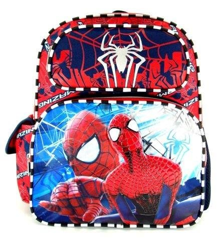 "Spiderman 12"" Toddler Size Backpack front-991434"