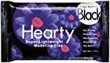 Activa Hearty Super Lightweight Air Dry Clay, 1-3/4-Ounce, Black