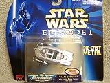Star Wars - Episode 1 - Gian Speeder - Micro Machines - Die Cast Metal - Galoob - Mint - Limited Edition - Collectible