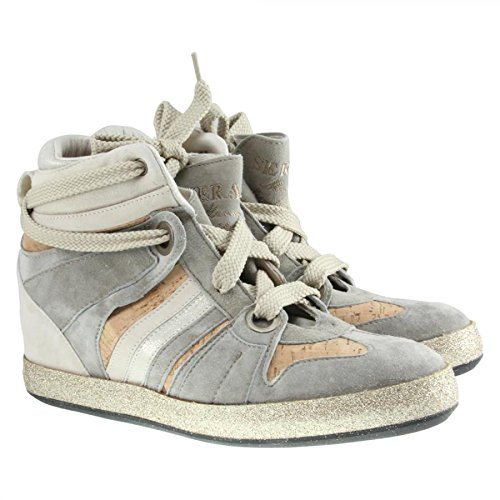 SERAFINI donna Wedges Manhattan Cork tortora 2739 grigio 39