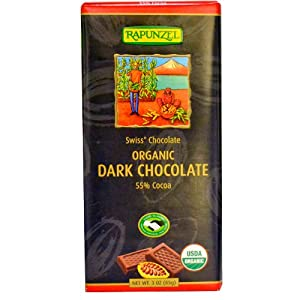Rapunzel Organic Swiss Dark Chocolate -- 3 oz