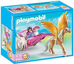 Playmobil Princess With Pegasus Carriage Toys Games