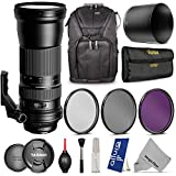 Tamron AFA011N700 SP 150-600mm f 5-6.3 Di VC USD Zoom Lens for NIKON DSLR Cameras (Net Price $970.38 After $120 Mail-In Rebate) w Essential Photo and Travel Bundle