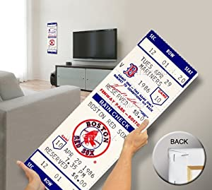 That's My Ticket Roger Clemens First 20K Game Mega Ticket Wall Decor, Boston Red Sox