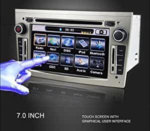 Autoradio HD GPS DIVX DVD MP3 USB SD TNT RDS Bluetooth IPOD avec CAN BUS pour Opel Astra Vectra Zafira Corsa Vivaro Meriva Signum