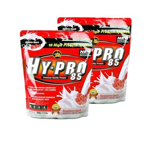 Hot All Stars Hy-Pro 85 Protein Whey+ EGG (2 x 500g = 1000g), Schokolade
