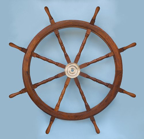 48-inch Diameter Ship's Wheel
