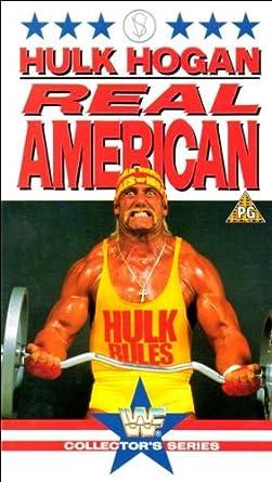 Amazon Com Hulk Hogan Real American Vhs Hulk Hogan