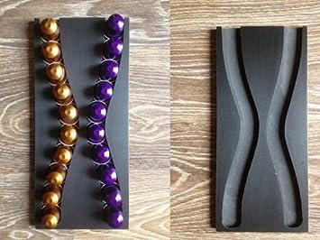 Distributeur pour n capsules capsules nespresso design noir cuisine - Distributeur capsule nespresso design ...