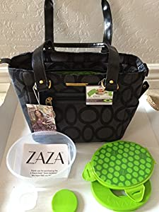 Amazon Com Zaza Lunch Tote With Leak Proof Food Container