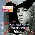 Damals war es Friedrich Hörbuch von Hans Peter Richter Gesprochen von: Michael Degen