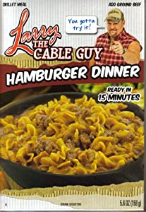 Larry the Cable Guy Hamburger Dinner Skillet Meal