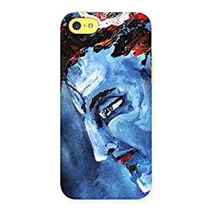 Stylish Mahadev Blue Color Print Back Case Cover for iPhone 5C