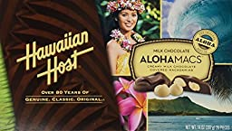 Hawaiian Host The Original chocolate Covered MACADAMIA NUTS BOX 14 OZ (397 g)