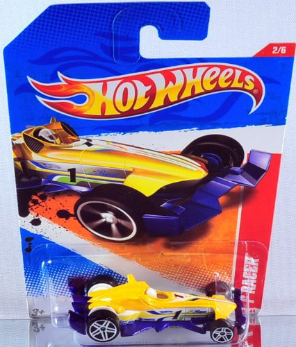 2011 Hot Wheels 218/244 - Thrill Racers Raceway 2/6 - F-Racer - 1