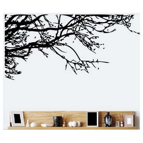 TRURENDI Stunning Tree Branch Removable Wall Art Sticker Vinyl Decal Mural Home Decor