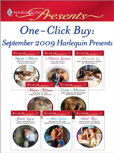 one-click-buy-september-2009-harlequin-presents-the-princes-captive-wifethe-billionaires-bride-of-ve