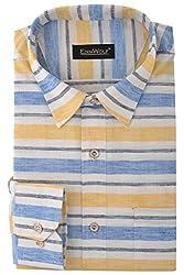 Edinwolf Men's Formal Shirt (EDFR706_38, Multi-Coloured, 38)
