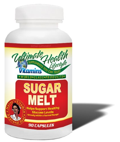 Sugar Melt- Cinnamon Capsules Help Lower Your Blood Sugar & Cholesterol Levels. Buy 2 Get 1 Free!
