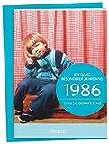 Image de 1986 - Ein ganz besonderer Jahrgang Zum 30. Geburtstag: Jahrgangs-Heftchen mit Umschlag