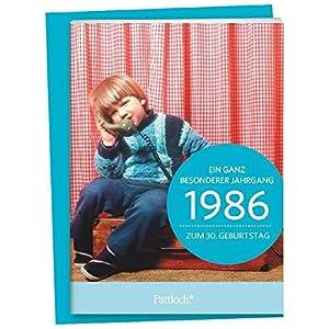 1986 - Ein ganz besonderer Jahrgang Zum 30. Geburtstag: Jahrgangs-Heftchen mit Umschlag
