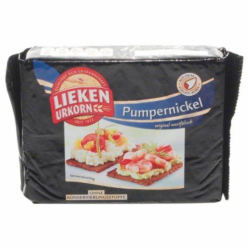 German Lieken Urkorn Pumpernickel - 1 x 250 g