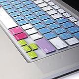GMYLE(R) Photoshop Shortcuts Hot Keys Keyboard Film US Layout for 13 15 17 Macbook Pro, 13 15 Retina Macbook Pro, 13 Macbook Air