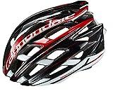 Cannondale(キャノンデール) ヘルメット サイファー CU4000SM04 ブラック/レッド S/M(52-58cm)