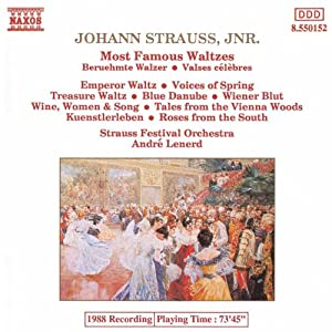 Strauss Jr: Most Famous Waltzes The Blue Danube