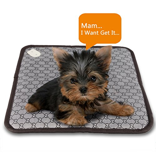 Pet Safe Cat Dog Soft Outdoor Bed Electric Heating Pad Waterproof Blanket(Item Will Be Sent With Random Color)