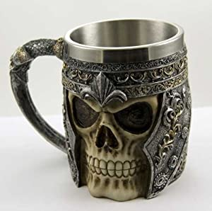 Tankard Skull Face With Armour