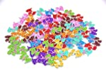 Pack of 50PCS Puppy Buttons-Mixed Woo...