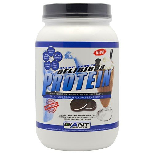 Giant Sports Products Protein Delicious Cookies and...