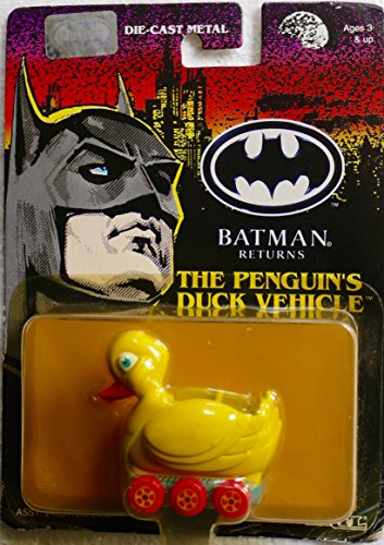 Batman Returns Die-cast Metal The Penguin's Duck Vehicle