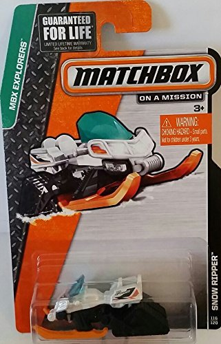 "Matchbox ""On a Mission"" - MBX Explorers - Snow Ripper #116/120 - 1"