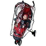 novobaby bebé asiento de coche impermeable para cochecito Weather Shield cochecito individual cubierta para la lluvia, diseño, Infant Carrier asiento de coche Lluvia Escudo