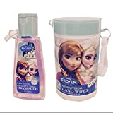 Disney Frozen Antiseptic Hand Cleansing Gel and Antibacterial Hand Wipes Bundle