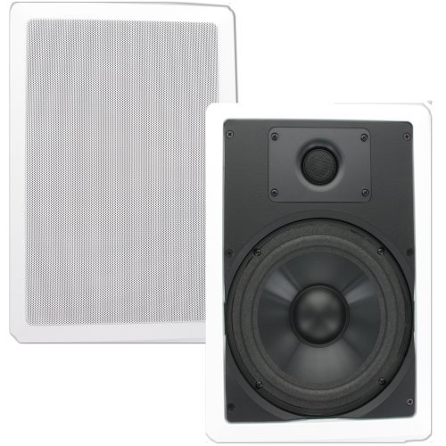 Theater Solutions Cs8W 8 -Inch In Wall Speakers Home Theater Surround Pair