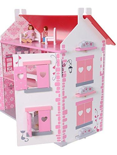 Puppenhaus aus Holz - Puppenstube - Holzhaus