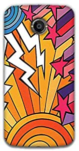 The Racoon Grip Thunderstorm hard plastic printed back case / cover for Moto X 2nd Gen