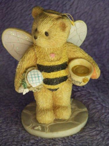 "Cherished Teddies Bea ""Bee"" My Friend Girl Bear Dressed as Bee - 1"