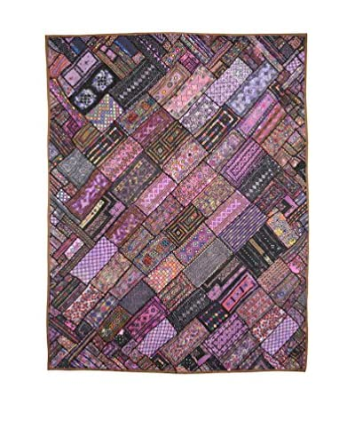 Uptown Down Vintage One-of-a-Kind Pieced Collar Panel, Multi