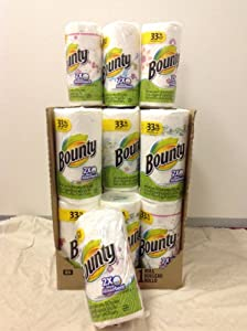 Bounty Paper Towels, Prints, 1 Big Rolls, 54 2-Ply Sheets (Pack of 24) by Bounty